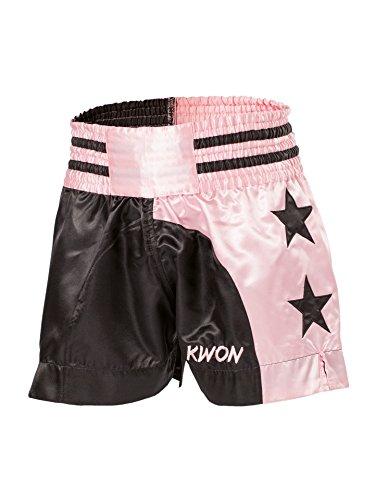 Thai-Shorts Damen schwarz/pink (XS) …