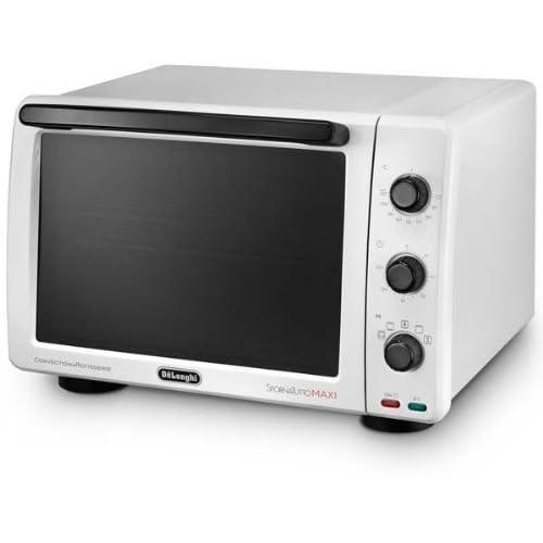 Four DeLonghi EO32602WH Forno, Ventilateur Maxi Bianco Sfornatutto, 32 L.