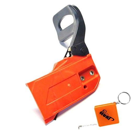 HURI Kettenraddeckel Kettenbremse passend für Motorsägen Kettensäge Fuxtec CS 3.0, CS 3.6