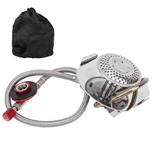 Rosilesi 1 * Estufa de Gas - Mini Horno de Estufa de Camping al Aire Libre Horno de Gas portátil Olla Caliente para Picnic de Viaje