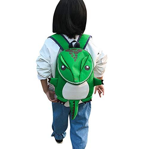 Pequeña mochila infantil con diseño de dinosaurio, mochila escolar para niña, mochila de animales, para guardería, colegio, primaria, preescolar, 2-5 años