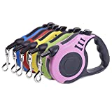 Retractable Dog Leash, Pet Walking Leash With Anti-slip Handle, Strong...