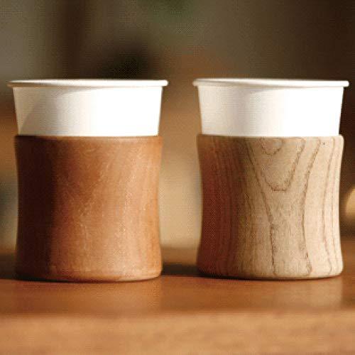 紙コップホルダー 木製 おしゃれ 7オンス用 日本製 カップディスペンサー 職人 タガヤサン 鉄刀木 無垢材 (タガヤサン材)