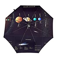 太陽系 折りたたみ傘 自動傘 ワンタッチ式 おしゃれ 耐強風 超撥水 晴雨兼用 梅雨対策 メンズ レディース ビッグサイズ