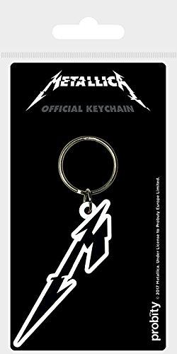 Keychain Metallica - Llavero de Goma M Icon