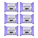 Neutrogena Makeup Remover Night Calming Cleansing Towelettes, Disposable Nighttime Face Wipes to...