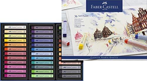 Faber-Castell 128336 - Softpastellkreide STUDIO QUALITY, 36er Etui