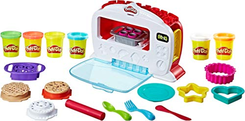 Play-Doh Kitchen Creations Magical Oven Play Food Set for Kids 3 Years and Up with Lights, Sounds, and 6 Non-Toxic Colors