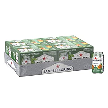 Sanpellegrino Clementine Italian Sparkling Drinks 11.15 fl oz Cans  24 Count Packaging May Vary