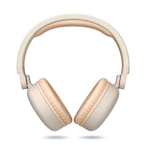 Energy Sistem Headphones 2 - Auriculares con Bluetooth (Over-Ear, Audio-In, Long Battery Life, 180 Plegable) Beige