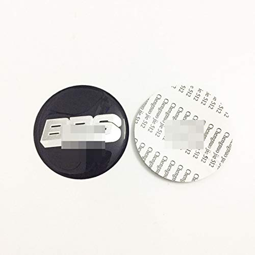 4 PCS/Set Wheel Hub Caps Fit para BBS Wheel Hub Center Cover Car Car Wheel Logo Accesorios de Estilo 318 (Size : 65mm)