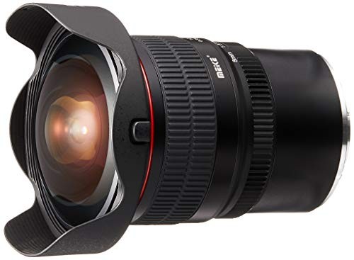 Meike Optics MK 8 mm f3.5 Objetivo Ojo de pez de Ultra Gran Angular para Sony E-Mount