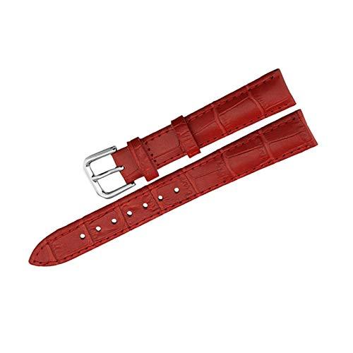 Brting Sorteo Reloj Banda Correas de Cuero Genuino Relojes de Relojes universales Mujeres Hombres Correa de Vaca cinturón12 mm 18 mm 20 mm 22 mm Accesorios de Reloj