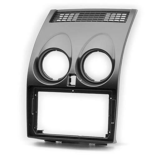 Sound-Way Kit Montaje Autoradio, Marco 2 DIN Radio para Coche, Adaptador Pantalla 9' Pulgadas Compatible con Nissan Qashkai 2007-2014