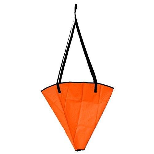 SunniMix 1 Pezzo Ancora Galleggiante Adatto a Barche a Motore, Barche a Vela, Gommoni, Moto d Acqua, Kayak - Arancione, Fino A 12-14ft