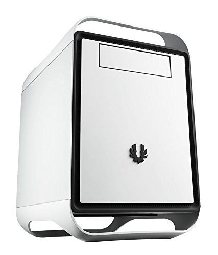 BitFenix Prodigy M - Computer-Gehäuse (Kubus, PC, Kunststoff, Stahl, Micro-ATX,Mini-ITX, Schwarz, Weiß, Boden)