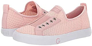 guess light pink shoes