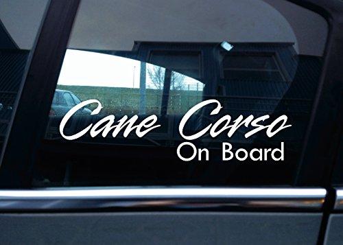 Cane Corso on board'Auto-Aufkleber, vinyl
