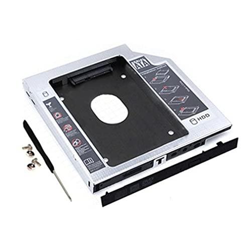 RHNE Adaptador de Disco Duro HDD SSD SATA Soporte para Apple para MacBook para 2.5 Pulgadas SATA I/II/III Generación Serie Completa Disco Duro Aluminio 127 * 126 * 9.5 mm