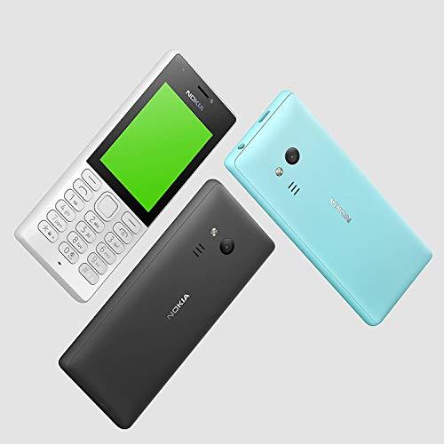 Nokia 216 - Téléphone portable débloqué GSM (Écran 2,4 pouces, ROM 16Mo + jusqu'à 32Go via carte SD, Single SIM) Noir [Version Import]