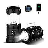 Episkey™ Rechargeable Solar and Charging LED Lantern Light, Portable Camping and Home Emergency...