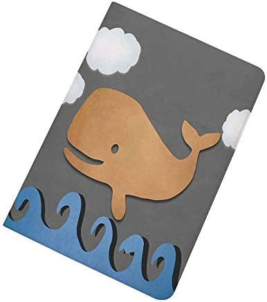 Whale Decor iPad Air 2 iPad Air Case Wooden Paper Like Designed Whale on Air with Paper Based product image