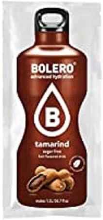 Bolero Bebida Instantánea Sin Azúcar, Sabor Tamarindo - Paquete de 24 x 9 gramos - Total 216 gramos