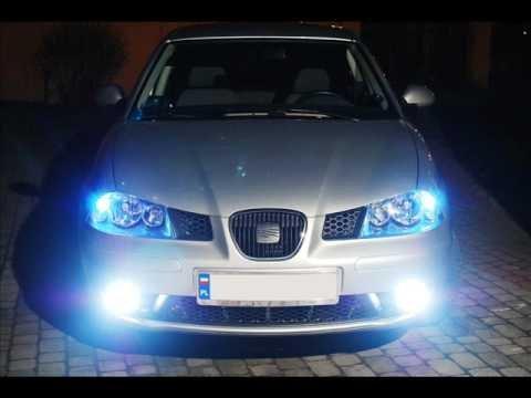 Kit phares Xenon Voiture ampoules H7 6000 K 55 W approprié pour Seat Ibiza IV 2002 à 2009 + 2 filtres ampoules xénon et ballasts slim Nouveau