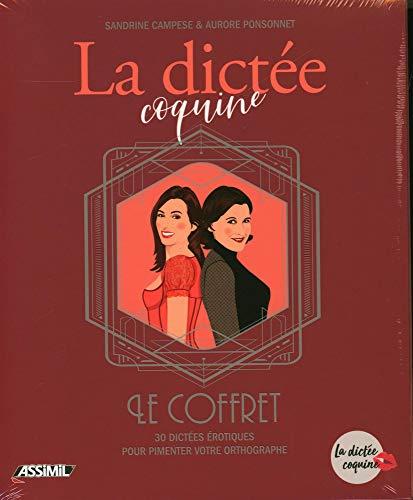 Coffret Cahiers La Dictée Coquine