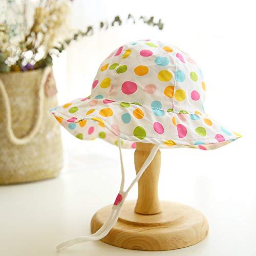 wtnhz Sombrero-Sombrero de bebé Fino de algodón Sombrero de Primavera y Verano Sombrero de patrón Animal Sombrero de Pescador a Prueba de Viento para niños Sombrero de
