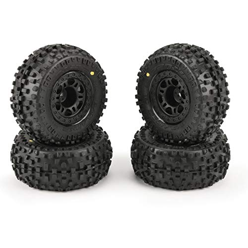 "Pro-line Racing Badlands SC 2.2"" 3.0"" Tires MTD (4) Slash 2wd Front/Rear, PRO118230"