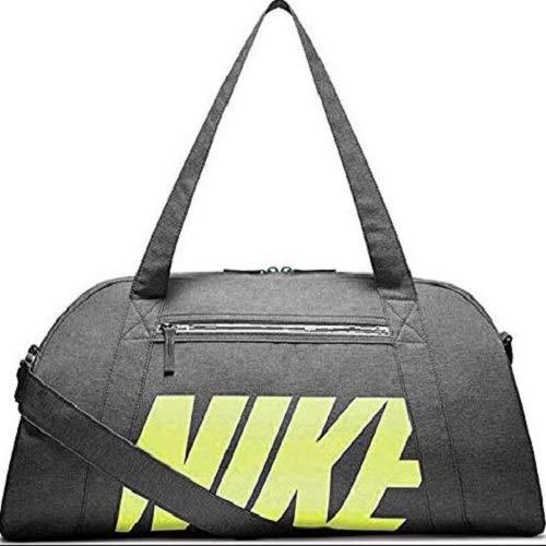 Nike Damen W NK GYM CLUB Klassische Sporttaschen,Grau(obsidian/Obsidian/(barely volt),One size