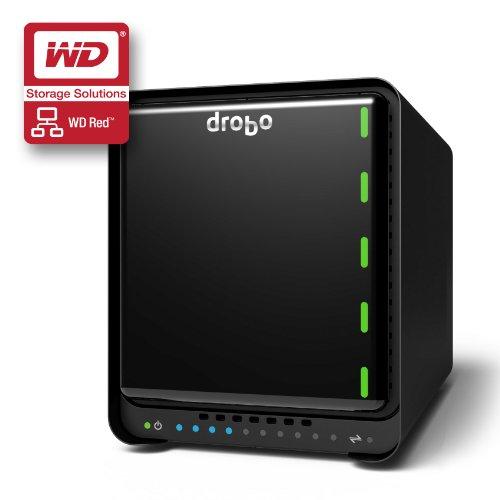 'Drobo 5N Storage Server Desktop Ethernet LAN Black–NAS & Storage Servers (9000GB, HDD, Festplatte, SSD, Serial ATA III, 3000GB, 3.5)