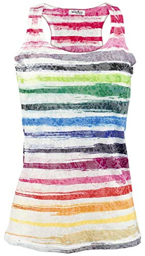 INNOCENT Icicle Burnout Frauen Top Multicolor M