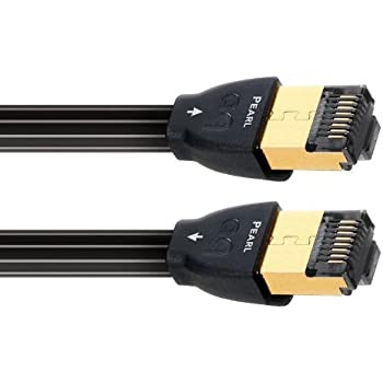AudioQuest 1.5 m RJ/E Pearl 1.5 m Cat7 Black Network Cable