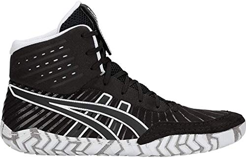 Asics Hombres Aggressor 4 Zapatos, color Negro, talla 46.5 EU