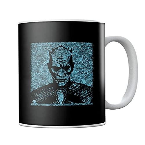 Juego de Tronos Night King Graffiti Taza de café de cerámica, regalo de cumpleaños