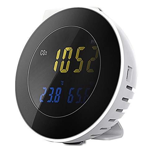 no-branded CO2-Sensor Digital-Kohlendioxid-Analysator 3 in 1 Temperatur Hygrometer Tester Alarmanlage Gas...