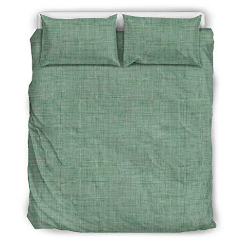 ANVPI effen kleur effen kleur sprei Comforter Cover Set Full/Queen Size zachte microvezel lichtgewicht effen kleur 1 quilt cover + 1 kussen Sham voor jongens slaapkamer