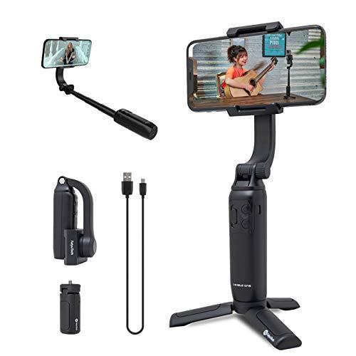 FeiyuTech Vimble One Gimbal Teleskop Selfie Stick mit Stativ Faltbares Taschenformat von für iPhone Huawei P30 Pro, Xiaomi 9, Vivo NEX, Oppo Find X,...