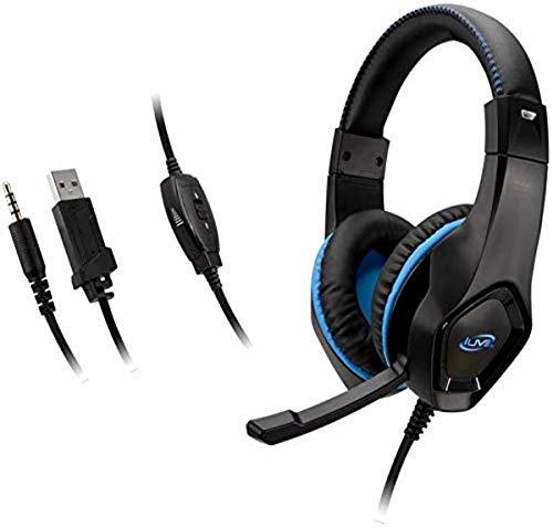 iLive IAHG19B IAHG19B Gaming Headphones, Black, Standard