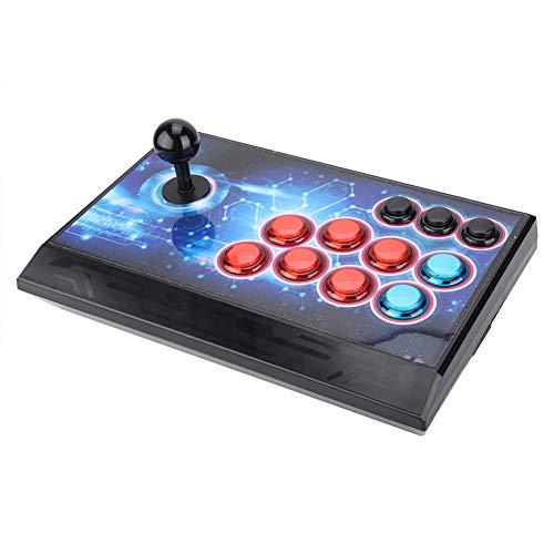 3D game console, mini games retro 3D arcade machine, console home arcade games game dubbele speler, ondersteunt 1920x1080P HDMI VGA DDR3 2 / 4G TF-kaart (EU-stekker)