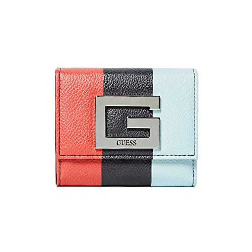 GUESS WOMAN WALLET MINI WALLET BRIGHTSIDE LOGO STRIPE SWST7580430