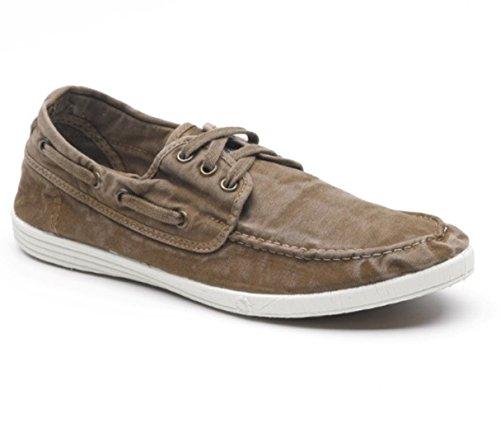 Natural World Eco Schuhe – 303E – Natural World Herren – 100 % umweltfreundlich – Herrenschuhe für den Sommer, - Getreide-Kaffee - Größe: 43 EU