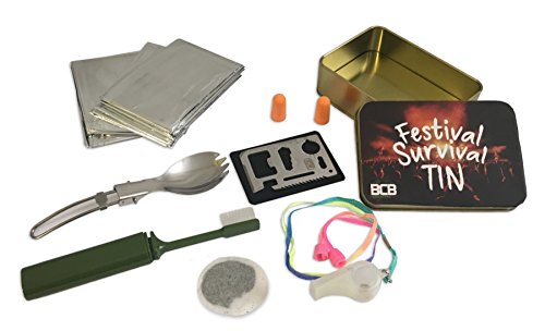 BCB Adventure Festival Survival Tin Kit, Bronze, Standard