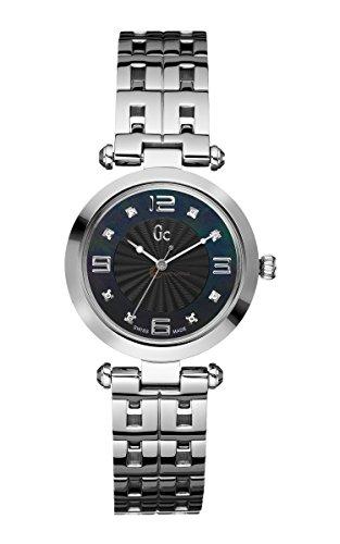Reloj Guess Collection Gc Class Lady 8 Diamond X17107l2s Mujer Nácar