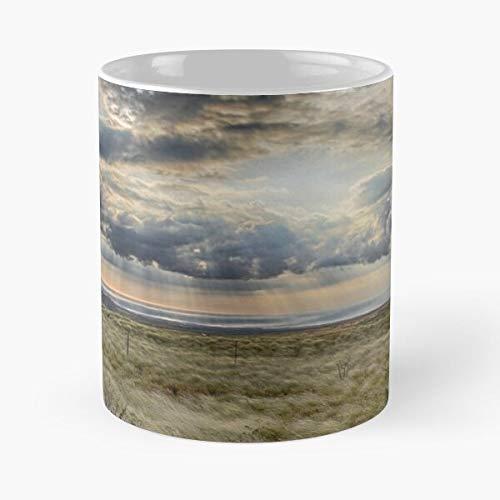 Kona Rays Hawaii Sun The best 11oz White marble ceramic coffee mug
