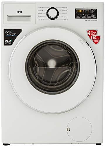 IFB 6 Kg Fully-Automatic Front Loading Washing Machine (EVA ZX, White, Inbuilt Heater)