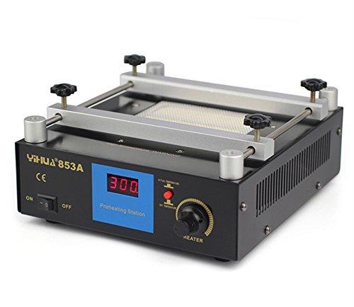 Newtry - Estación de trabajo de 50 °C -350 °C PCB BGA para horno, estación de trabajo repetitiva de cerámica de precalentamiento (220 V/110 V)