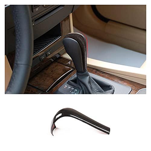 ZHANGXIN XINGSTOR 1 PCS ABS Ajuste Ajuste para BMW 3 5 6 Series x3 x5 E39 E46 E53 E60 E61 E63 E83 2004-2010 Accesorios DE LA Cubierta DE LA Cabeza del Cambio DE Cambio Interior Interior